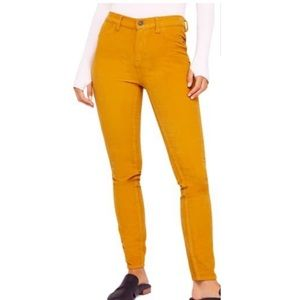 NEW Free People High Waist Skinny Corduroy Pants